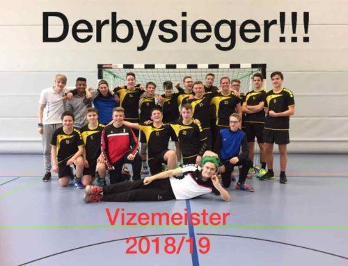 Derbysieger, Derbysieger – Hey, Hey ; und Vizemeister